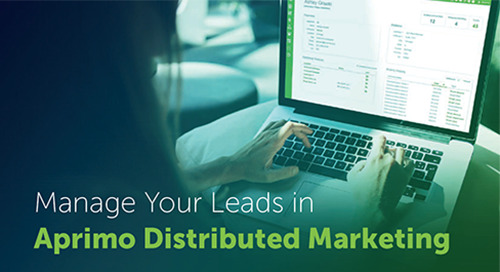 Distributed Marketing Lead Management Overview