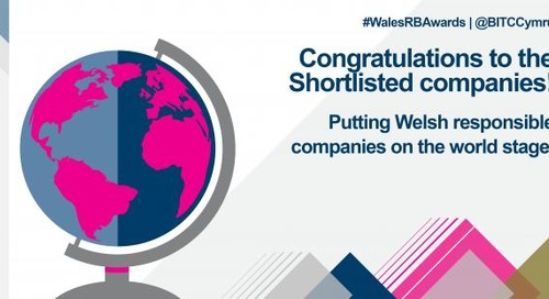 2017 Wales Responsible Business Awards - Shortlisted Companies