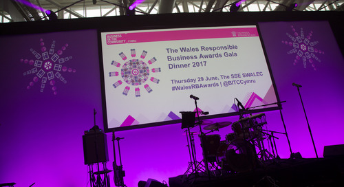 2017 Wales Responsible Business Award Winners are announced