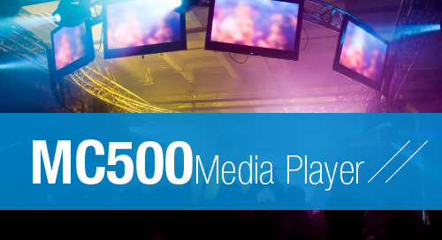 PlayNetwork MC500 Media Player