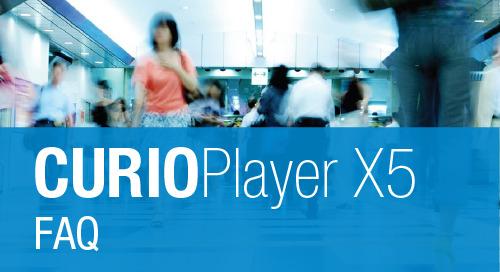 CURIOPlayer X5 Media Player: FAQ