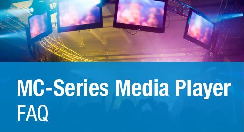 MC-Series Media Players: FAQ