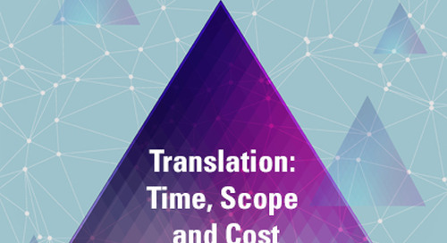 Translation: Time, Scope and Cost