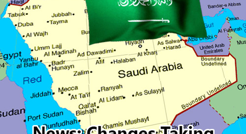 News: Changes Taking Place in Saudi Arabia