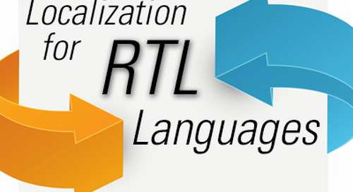 Localization for RTL Languages