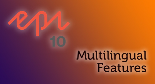 Episerver 10: Multilingual Features
