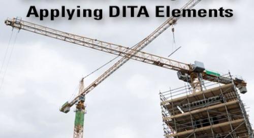 Structured Writing Part 5: Applying DITA Elements