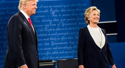 McClatchy DC: In a switch, Trump doesn't gobble up free coverage during 2nd presidential debate
