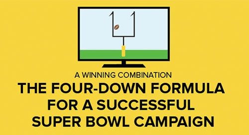 [infographic] The Four Down Formula for a Successful Super Bowl Campaign