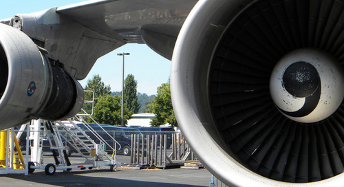 Core competencies help employees embrace change  at an aircraft manufacturing company