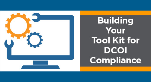 Not to be Missed Webinar – Sign Up Today for: Building Your Tool Kit for DCOI Compliance