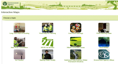 Tools: The Environment Agency: What's in your backyard? Search local maps