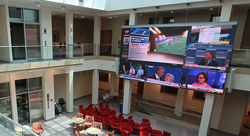Century-Old Indiana University Building Refreshed With New Digital Media Solutions