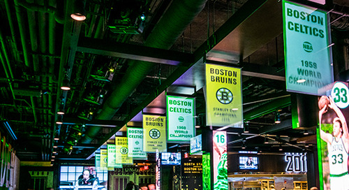 TD Garden Evolves Fan Experience With Cutting Edge Fan Immersion