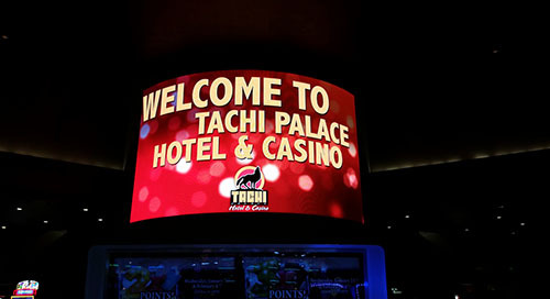 Tachi Palace Casino Installs NanoLumens Display For This Year's Superbowl
