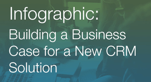 Infographic: Building a business case for CRM software