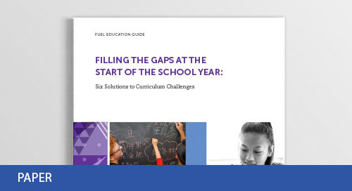 Fill the Gaps: 5 Solutions to Curriculum Challenges