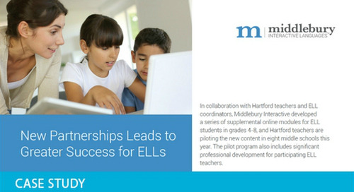 New Partnership Leads to Greater Success for ELLs