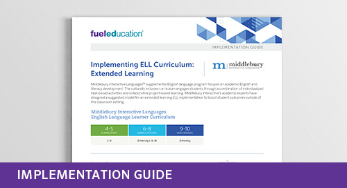 ELL Extended Learning Implementation Guide