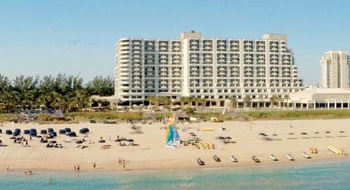 Site Visit on Demand: Fort Lauderdale Marriott Harbor Beach Resort
