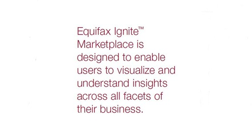 Equifax Ignite - Ignite Marketplace