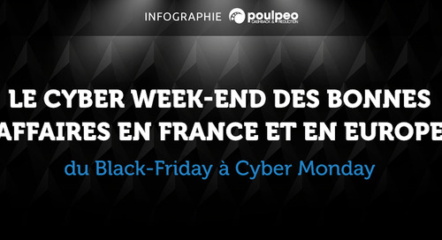 Cyber Weekend 2016 en France et en Europe