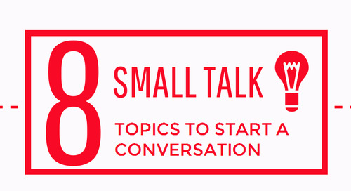 Infographic: 8 Small Talk Topics