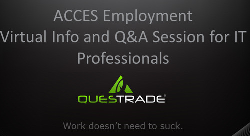 Slideshare: Questrade Virtual Information Session