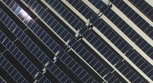 Solar technology takes flight with drones