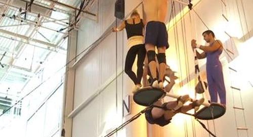 Une visite dans le Studio de création du Cirque du Soleil à Montréal. Tout commence ici! [vidéo]