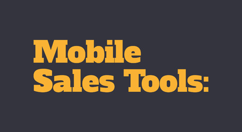 INFOGRAPHIC: Mobile Sales Tools