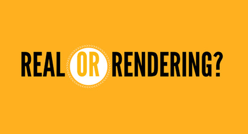 INFOGRAPHIC: Real vs Rendering