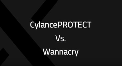 Cylance vs. WannaCry - WanaCrypt0r 2.0