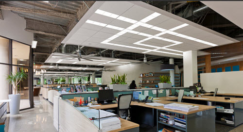 Architectural Lighting Catches Up With the Modern Office Spaces