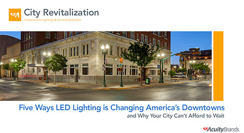 AIA Registered Presentation: How LED is Transforming Downtowns
