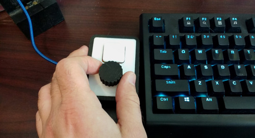 MakerPro: Custom computer volume control knob and mute button