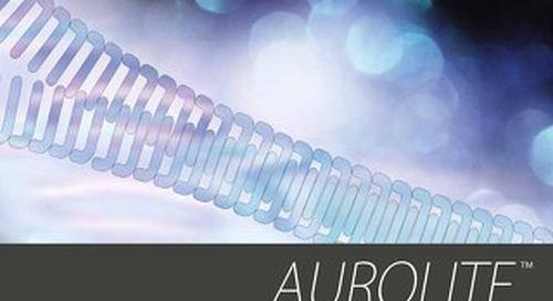Aurolite™ coil zipper