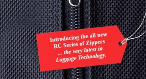 "Racqet Coil ""RC"" Luggage Zipper"