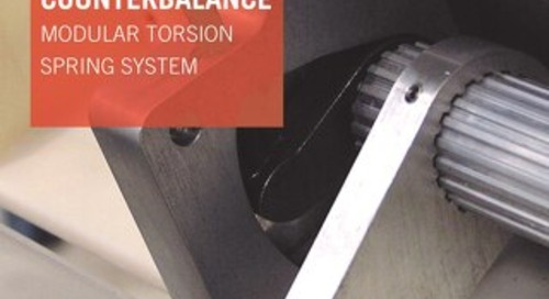 CounterBalance Modular Torsion Spring System Overview