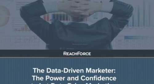 eBook - The Power to Let Data Drive Marketing