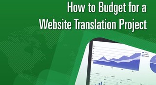 How to Budget for a Website Translation Project