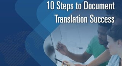 10 Steps to Document Translation Success