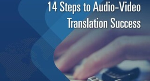 14 Steps to Audio-Video Translation Success