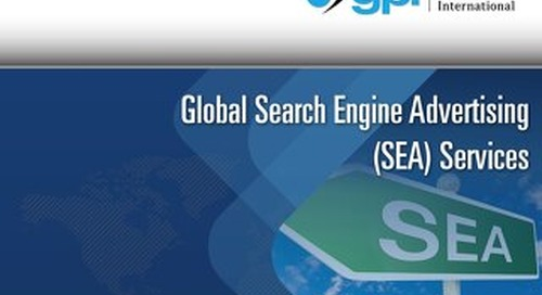 Global Search Engine Advertising Services