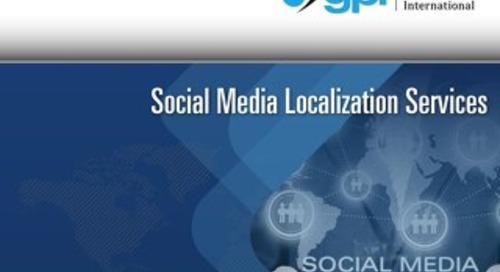 Social Media Localization Services