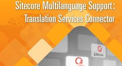 Sitecore Multilanguage Support Translation Services Connector
