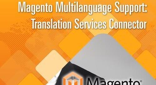 Magento Multilanguage Support Translation Services Connector