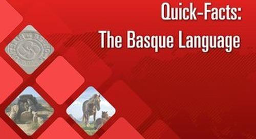 Quick Facts: The Basque Language