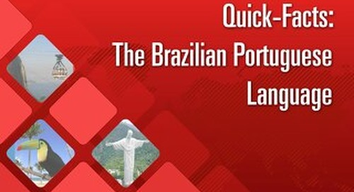 Quick Facts: The Brazilian Portuguese Language
