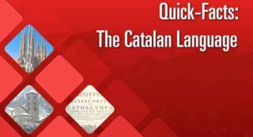 Quick Facts: The Catalan Language